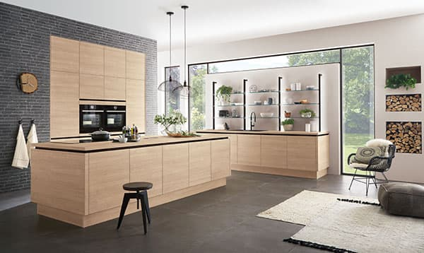 The products of German kitchen manufacturers score with high quality and homely details. © AMK