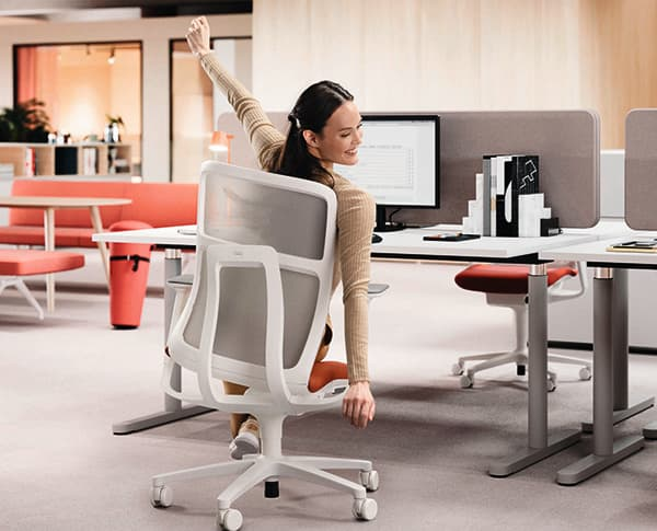 In times of New Work and home office, office furniture continues to gain in importance. © Wilkhahn