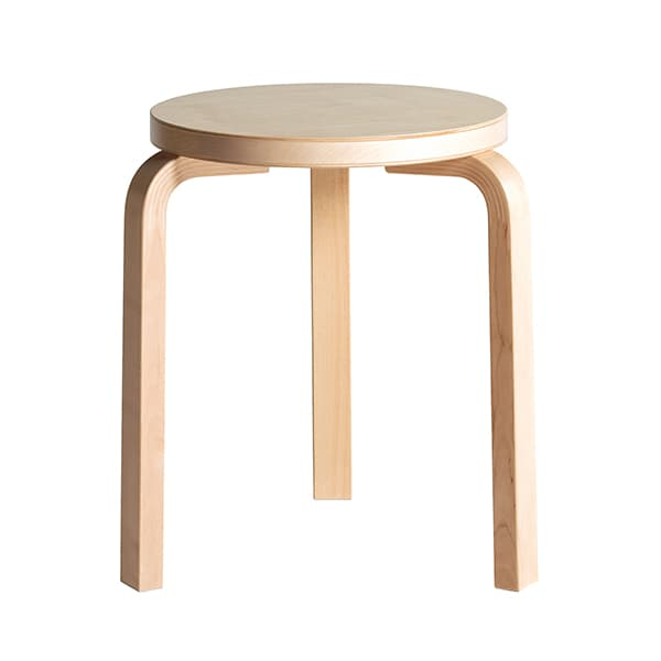 Design classics Stool 60: stackable, robust and beautifully simple © Artek