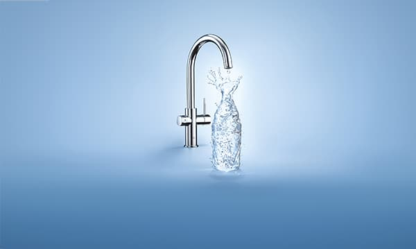 The Grohe Blue water system was awarded an icon © Grohe