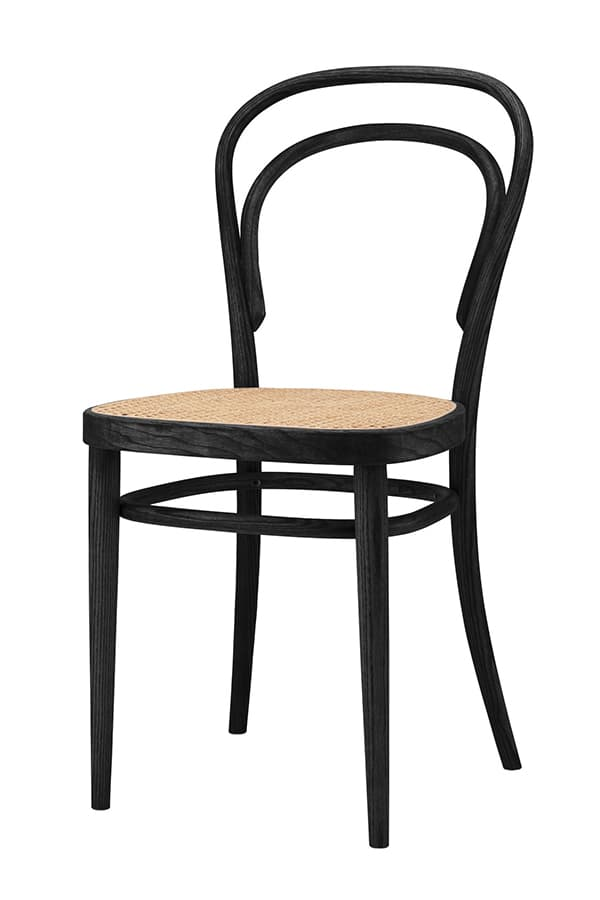 First industrially produced seating furniture - the famous coffee house chair 214 by Thonet © Thonet