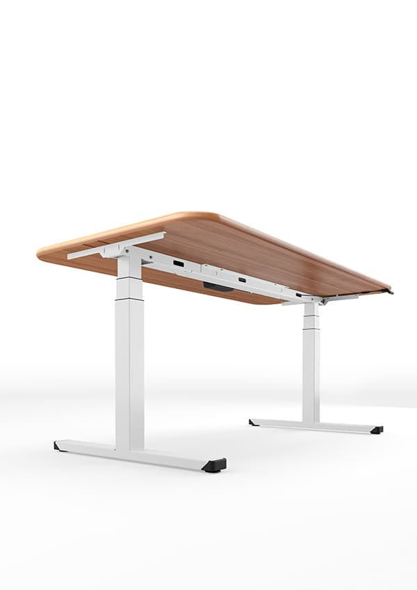 LifeUP Pro – versatile table frame with electric motor drive, can be fast or powerful. Equipped with SnapX as standard. @ Kesseböhmer ergonomic technology