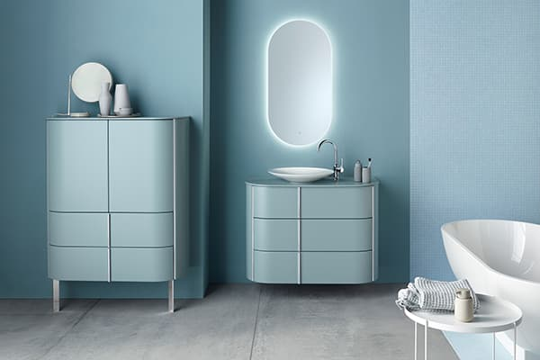 The Lavo 2.0 programme from Burgbad gives the bathroom a homely touch © Burgbad
