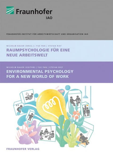 "The study ""Environmental Psychology for a New World of Work"" is published by the Stuttgart-based Fraunhofer Verlag."