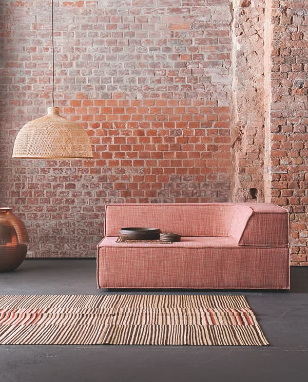Cubic upholstery elements: Furniture system Trio © COR