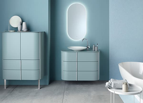 If there is order in paradise, the soul can dangle better. All storage space solutions are designed to channel potential chaos into aesthetic paths without restricting the bathroom. Light-looking cupboard furniture from Burgbad does just that. © Association of German Sanitary Industry (VDS) / © Burgbad