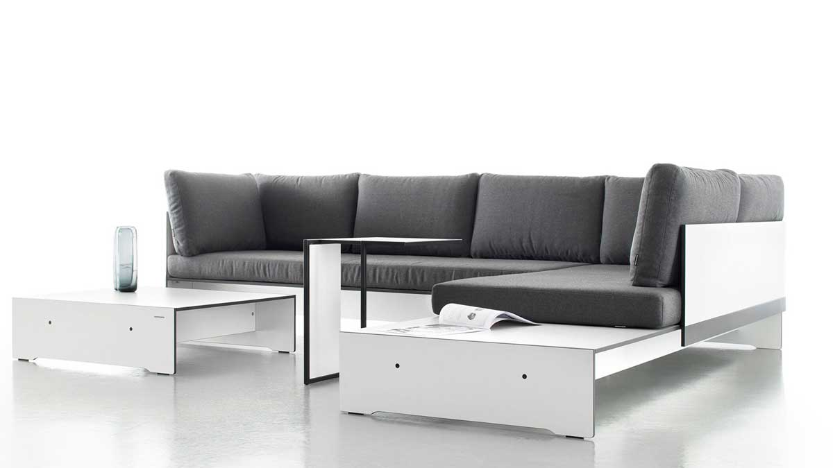 Comfortable and durable: conmoto's Riva Lounge