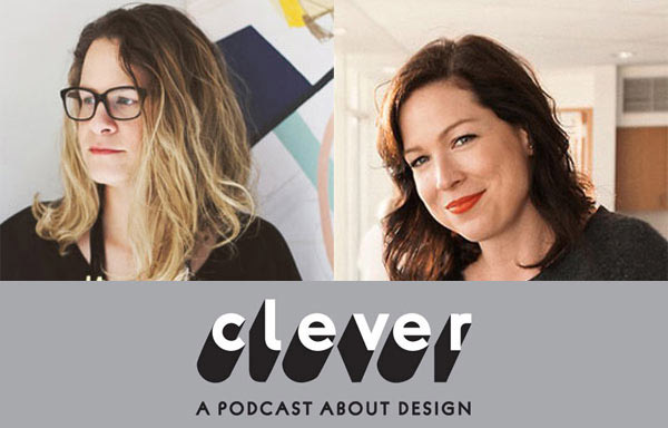 Jaime Derringer, founder of Design Milk, and designer Amy Devers (from left to right) are the creative minds behind the podcast
