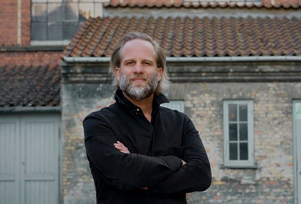 Peter Pawlick, Executive Director and Head of Strategy at the consultancy R/GA. Born in the USA, he is responsible for the development and quality of the company's strategic services and lives in Copenhagen. © R/GA