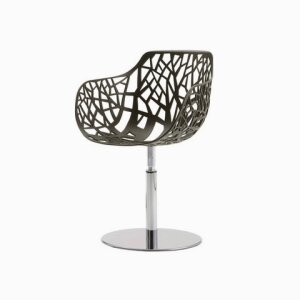 Forest swivelling armchair 02