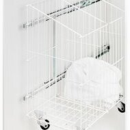 Bathroom/Utility Room, Laundry basket with divider