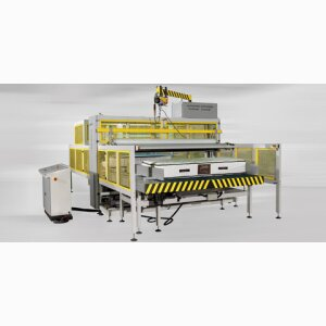 AUTOMATIC MATTRESS PACKING MACHINE