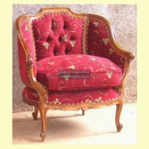 Sofa Louis Xv Mod Less Carving 1 Seat