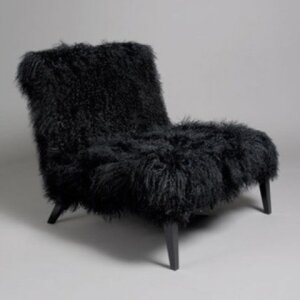 Abi Synthetic Fur Chair