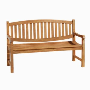 Oval Garden Arm Bench