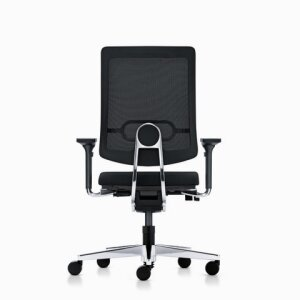 black dot Swivel chair