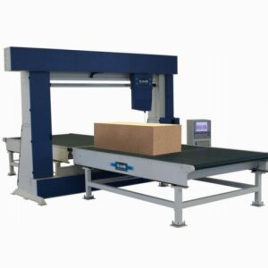 VCR - Vertical blade foam contour cutting machine