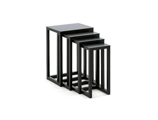 Hoffmann nesting tables by Wittmann Möbelwerkstätten GmbH | Table ...