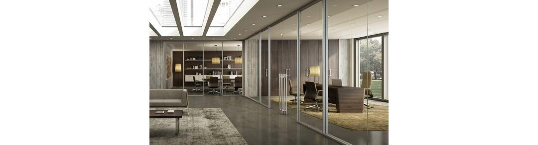 xw partition walls by quadrifoglio sistemi d 39 arredo spa
