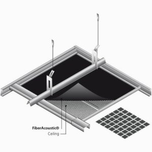 FiberAcoustic¨ - Suspended ceilings