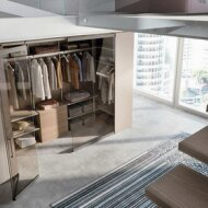 Camerino DB | walk-in wardrobe