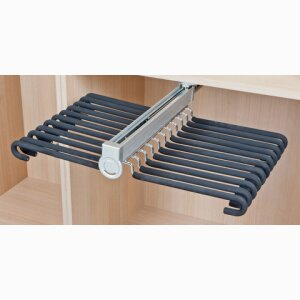 Trouser rack for wardrobes DEQUM
