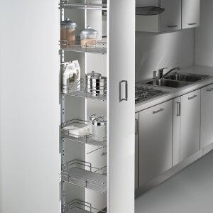 Pull-out pantry units