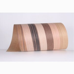Realwood Veneer Edge Bandings Fleeced Spliced Veneers