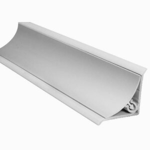 Aluminum Concave Skirting Plain