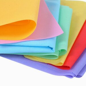 Decorated Nonwoven Polyester