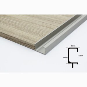 Aluminum Intergrated Handle - KA01