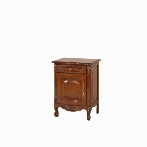 1 door, 1 drawer bedside table Mogador