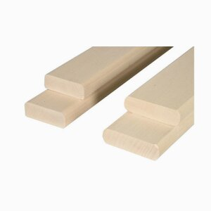 Profiles Wooden and wrapped bed sides