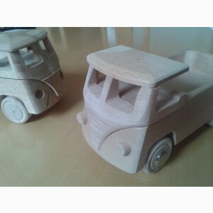 Wooden toy parts