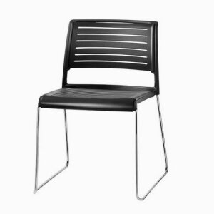 Aline - skid-base chair