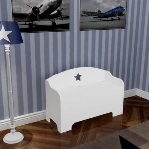 ROOMSTAR kids bench with storage and STAR