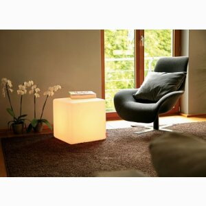 CUBE INDOOR Innovative Seat, Table and Decorative Object