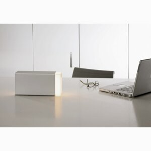 ERASER 260 SILVER Light Cube with an Illuminating Function