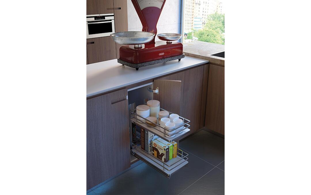 Base And Pantry Pull Out Unit Kitchen Drawers