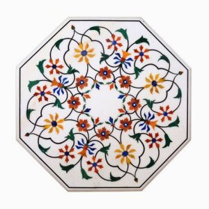 Traditional Octagonal Shaped Marble Table Top