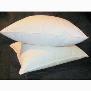 Polyester-filled pillows