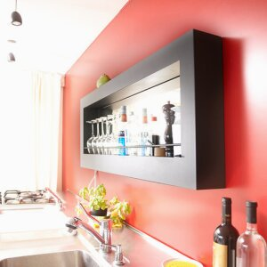 Encore - LED Mirrored Wall Bar