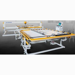 QUILTING MACHINES - UNCIA-RSSingle Needle Quilter With Frame By Frame System