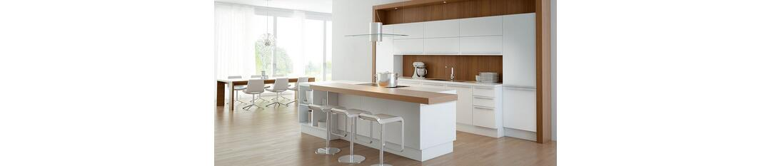 classic line mc artic white by pronorm einbauk chen gmbh fitted kitchens ambista. Black Bedroom Furniture Sets. Home Design Ideas