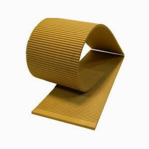 Flexible MDF-Plate with slots