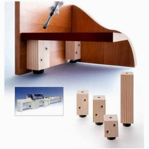 Height adjuster, wooden - Art.-Nr. 020 00