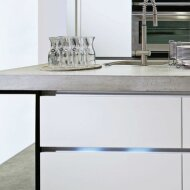 Kitchen countertops made of lightweight lightweight concrete