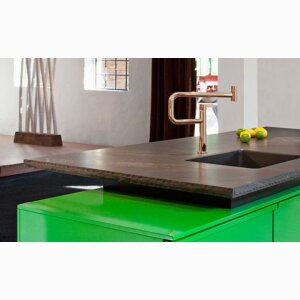 Kitchen worktops made of greywacke