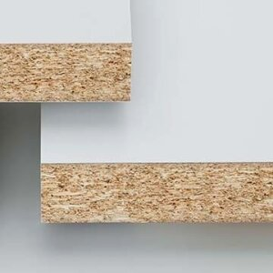 Duropal-Worktop P2, square edged profile