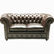 Sofa Oxford 2-seater leather